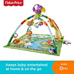 Fisher-Price DFP08 Rainforest Gym, Baby Playmat with Music and Lights, Suitable from Birth for New-Borns 5