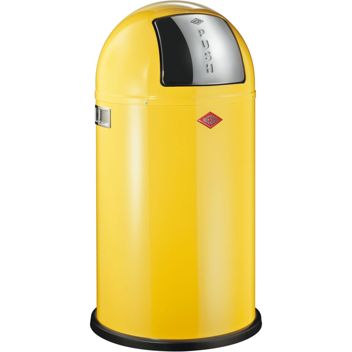 Attractive Wesco 175 831 19 Pushboy Abfallsammler, Lemon Yellow: Amazon.de: Küche U0026  Haushalt Great Pictures