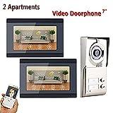 Cunhai 7 inch Wifi intelligent video doorbell recording video door telephone intercom system