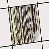 creatisto Küchen-Folie Fliesen verschönern | Motiv-Sticker Aufkleber Folie Badfliesen Küchengestaltung | 20x25 cm Design Motiv Schnurstracks - 1 Stück