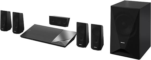 Sony BDV-N5200W 5.1 3D-DVD/Blu-ray Heimkinosystem (Bluetooth, WLAN, Smart TV, NFC) schwarz