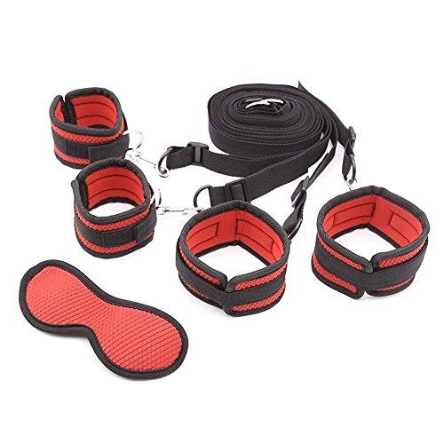 Bettfesseln-Set - Bettfesseln Gurte Verstellbare Übungsbänder - Für Matratze jeder Größe