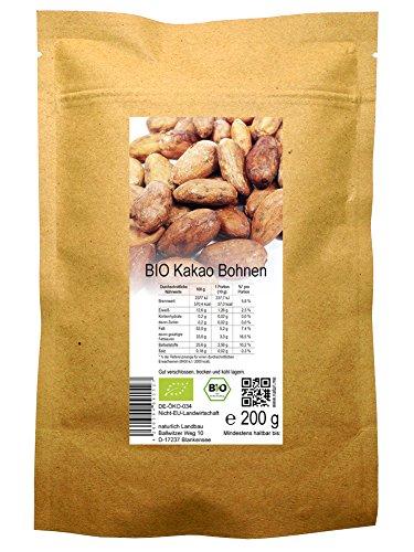 Afrikanischer Kakao (BIO Kakao Bohnen roh (200 g))