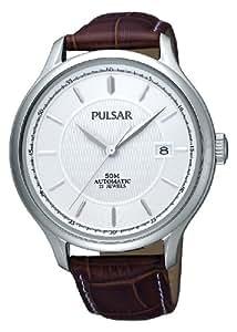 Pulsar - PU4003X1 - Montre Homme - Automatic - Bracelet Cuir Marron