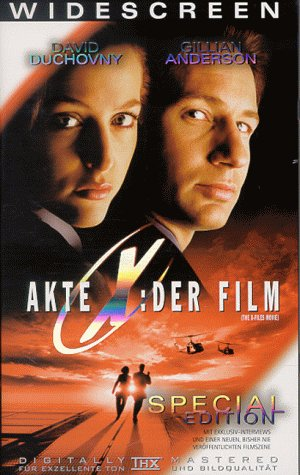 Akte X - Der Film [VHS] [Special Edition]