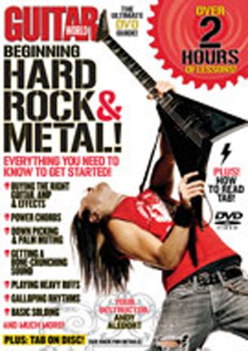 Price comparison product image Guitar World -- Beginning Hard Rock & Metal!: Everything You Need to Know to Get Started! (DVD) [2009]