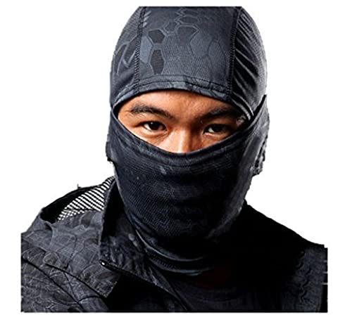 Balaclava Masque Camouflage Intégral Militaire Tactical Ninja Capuche Chasse Cyclisme Masque Camouflage - Typhon