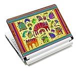 Luxburg® Design Aufkleber Schutzfolie Skin Sticker für Notebook Laptop 13 / 14 / 15 Zoll, Motiv: Katzen