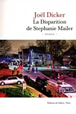 La Disparition de Stephanie Mailer de Joël Dicker
