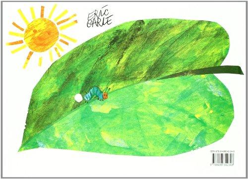 Copertina del libro La Pequeña Oruga Glotona