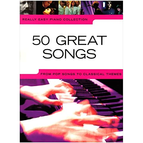 50 great songs: from pop songs to classical (Sala Piano Music)
