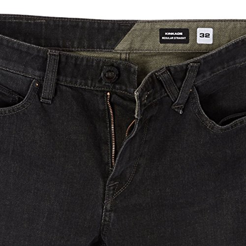 Volcom Kinkade Loose Straight Fit - Relaxed - Homme Vintage black
