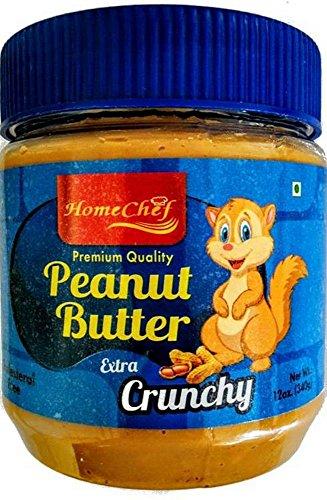 Homechef Peanut Butter, Crunchy, 340g