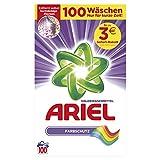 Ariel Colorwaschmittel Pulver Farbschutz 6.5 Kg, 2er Pack(2 x 100 Waschladungen)
