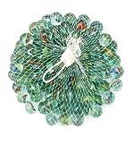 timtina 612 Stück Murmeln Glasmurmeln Knicker Glaskugeln Klicker Spielzeug Murmel Deko Dekoration Spielzeug für draußen Glas