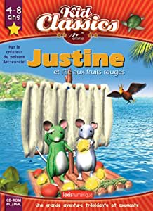 Justine et l'Île aux fruits rouges