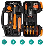 FIXKIT Werkzeugset im Koffer Werkzeugkoffer Werkzeugkasten f¡§1r den Haushaltsbereich Universal-Haushalts-Werkzeugkoffer