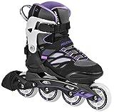 Powerslide Damen Inline-Skate Epsilon, Schwarz, 41, 940174/41