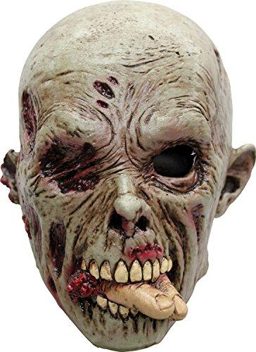 Menschenvertilgender Zombie - Halloween-Maske für Erwachsene (Zombie Halloween Masken)