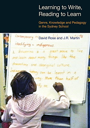 Learning to Write/Reading to Learn: Genre, Knowledge and Pedagogy in the Sydney School: Scaffolding Democracy in Literacy Classrooms (Equinox Textbooks & Surveys in Linguistics) por David Rose