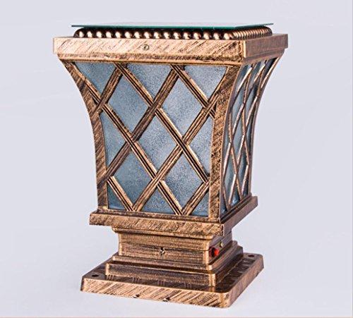 Usato, Zll Lampione solare Lampade/luci/lampade da parete/luci/lampade usato  Spedito ovunque in Italia