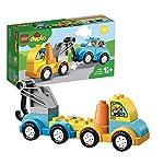 LEGO DuploMyFirst LaMiaPrimaAutogrù, Set di Mattoncini da Costruzione con Veicolo Giocattolo per Bambini e Bambine di1,5 Anni, 10883 LEGO