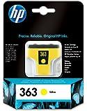 HP 363 Cartouche d'encre d'origine Jaune