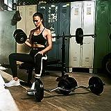 Gorilla Sports Hantelbank mit Gewichten - 5