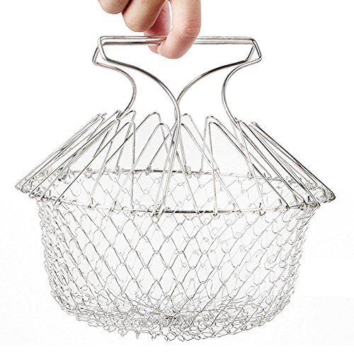 fry-french-chef-basket-by-aiqi-foldable-steam-rinse-strain-magic-stainless-steel-strainer-net-basket