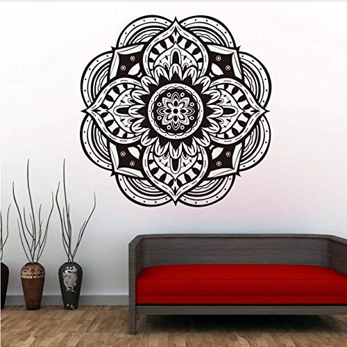 Wandtattoos, Wandtattoos Abziehbilder Mandala Yoga Muster Design Künstlerhaus Dekoration Abnehmbare Aufkleber Proof Wasser Walmart