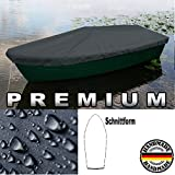Premium Boot Persenning Bootsplane - Anka , Ruderboot, Schlauchboot, Angelboot & Co Bootsplane extrem reißfest Pioner, Terhi, GFK, Bavaria, Fishman, Verus, (B 570cm x T 250cm, Anthrazit)