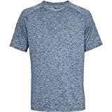 Under Armour Herren UA Tech SS Tee 2.0 Kurzarmshirt, Academy/Steel (409), XXL Test