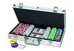 VEDES Pokerkoffer 300 Laser-Chips 11,5g