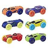 Hasbro – Nerf Nitro – Pack 1 – Ensemble de 6 Autos en Mousse