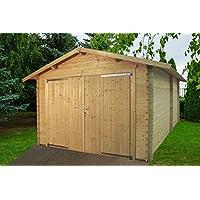 Garaje Eco – Box coche de madera de jardín gartenpro
