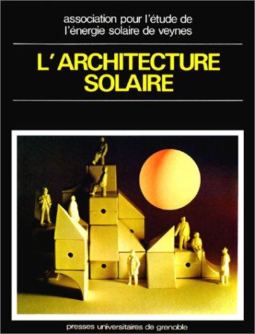 L'architecture solaire par Collectif