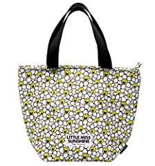 Idea Regalo - Mr Men Little Miss Sunshine Laughing Margherite Lunch Bag