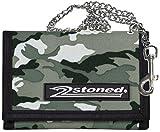 2Stoned Ketten-Geldbörse Wallet mit Label Speed in Ice Camo für Herren und Jungen