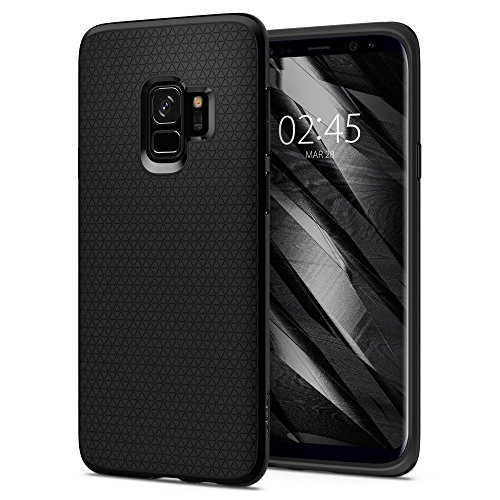 Coque Samsung Galaxy S9, Spigen [Liquid Air] Souple, Couleur Matte, Silicone, Protection...