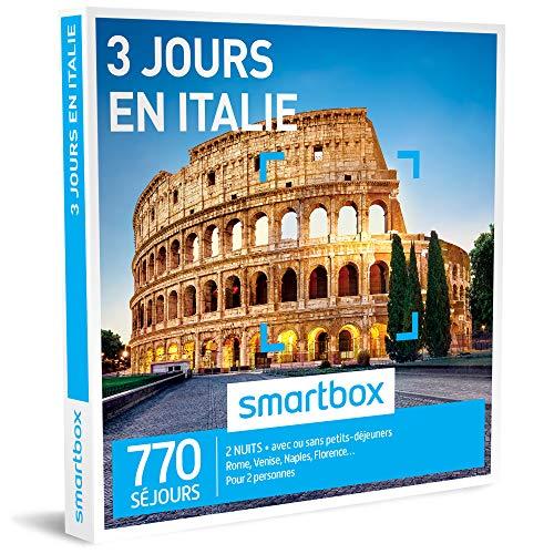 SMARTBOX - 3 jours en Italie - Coffret cadeau à l'étranger - À choisir parmi 770...