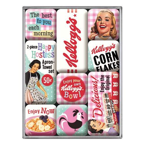 Nostalgic-Art Happy Hostess–Kellogg 's Corn Flakes