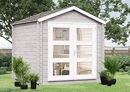 Gartenhaus mit Dachpappe und Boden | 270 x 210