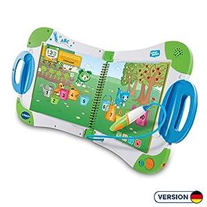 VTech - Sistema de Aprendizaje Interactivo, MagiBook, Color Verde, versión Alemana