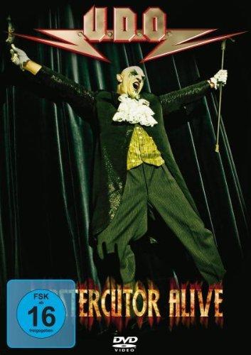 U.d.o. - Mastercutor - Alive (2xdvd)