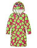 Schiesser Mädchen Nachthemd Frotteekleid, Rot (pink 504), 98 (Herstellergröße: 098)