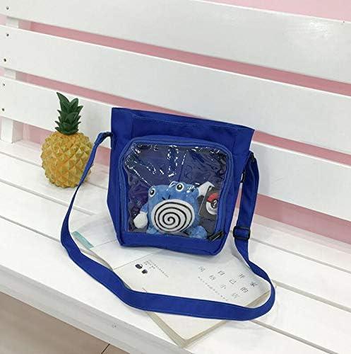 WWUUOOPRT Sac Pique-Nique de Pique-Nique Sac Sac à Lunch portatif à bandoulière Macarons Transparent de Style New College c12ca1