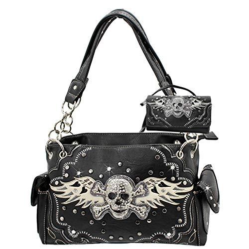 R2N fashions Western-Handtasche/Geldbörse mit Strasssteinen, versteckt