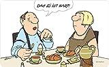 Inkognito Tabla para cortar de Loriot tabla de desayuno Das Ei ist hart