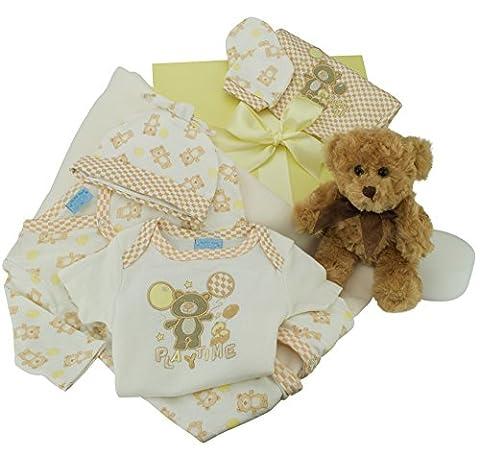 Baby Hamper Keepsake Box - Full of Baby Clothes, 5