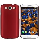 mumbi Schutzhülle Samsung Galaxy S3 i9300 Hülle matt rot
